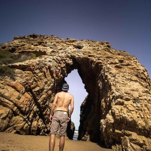 Arch Rock - Keurbooms, South Africa