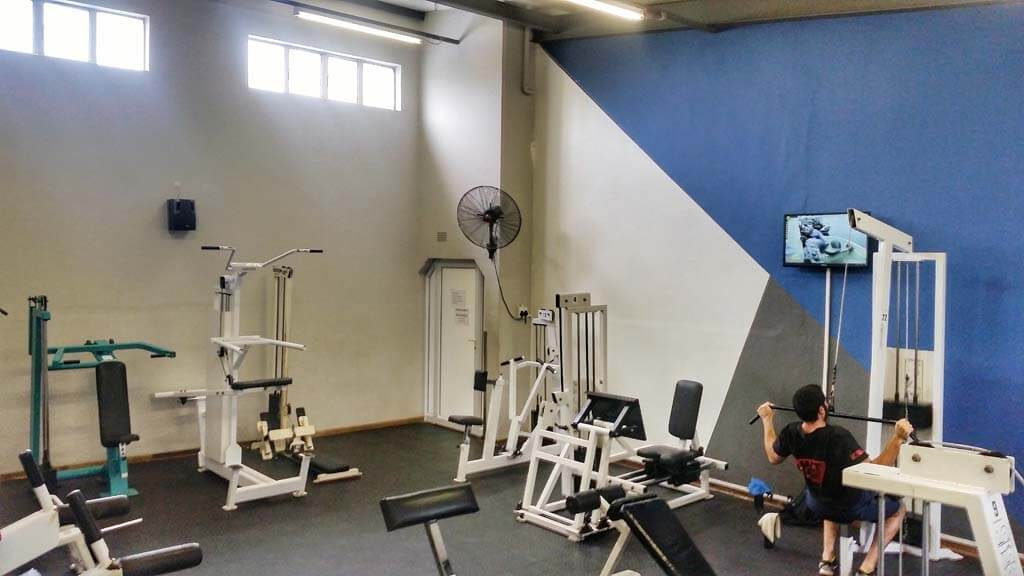 One of Xtreme Health & Fitness Club's Weight Rooms