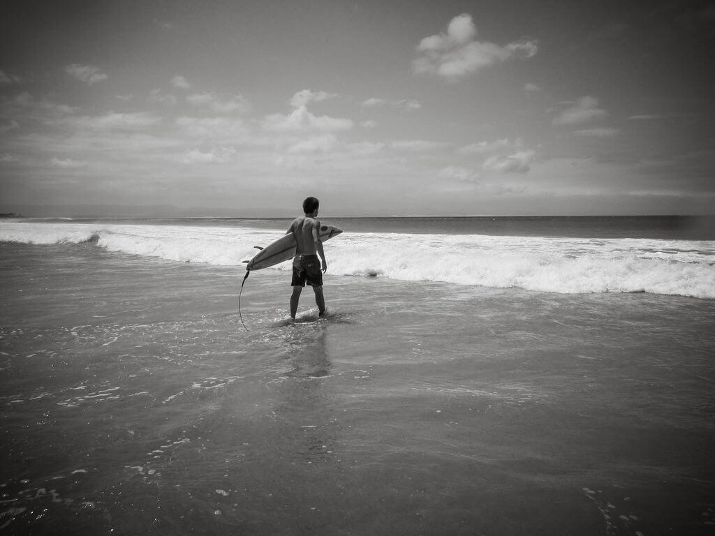Surfing In Jeffrey's Bay