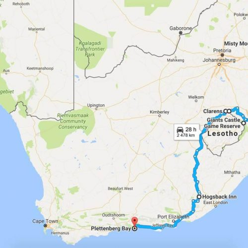 Roadtrip Map - Journey