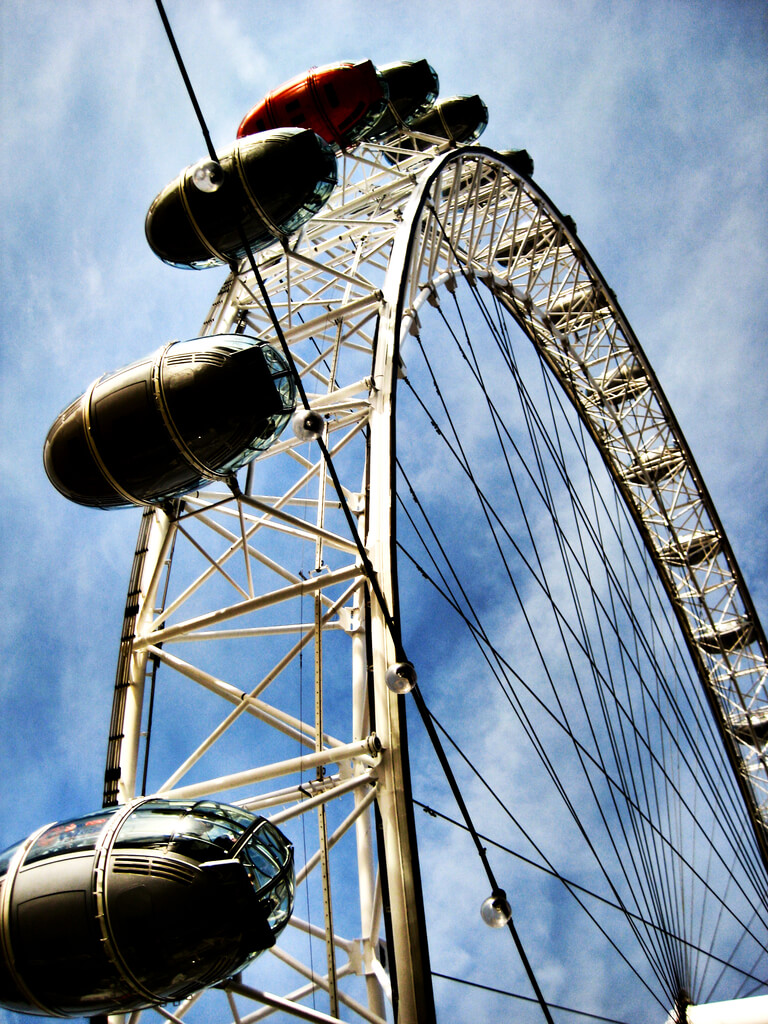 Riding The London Eye