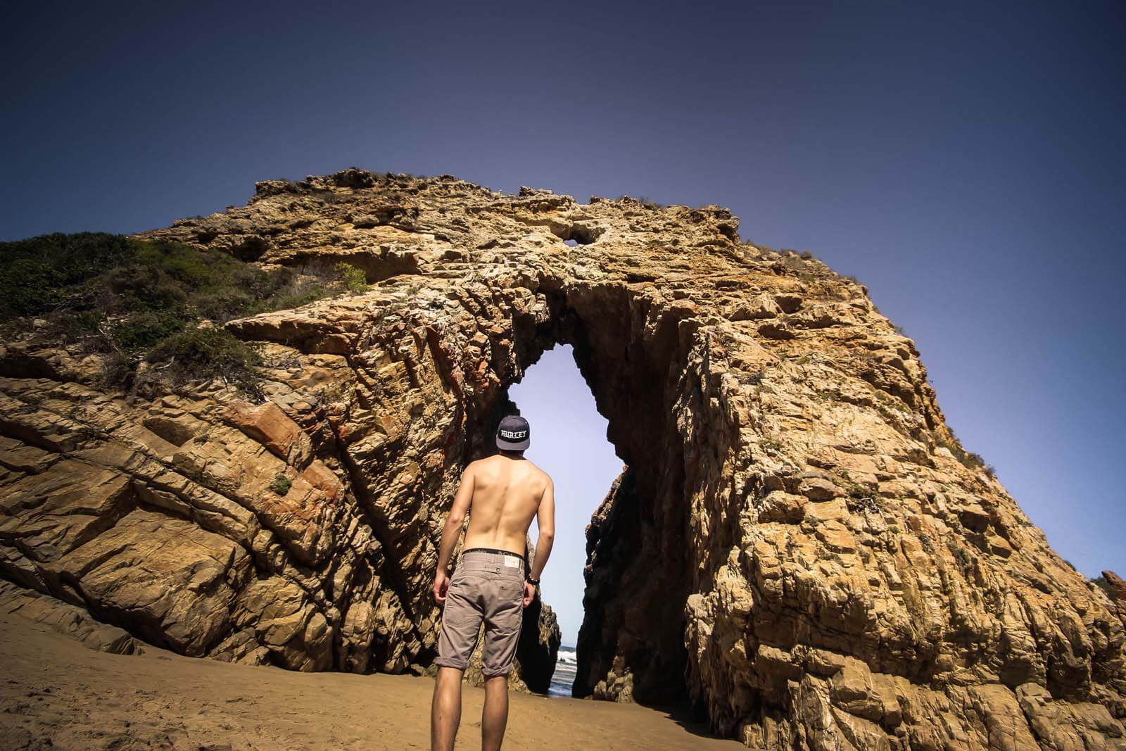 Exploring Rock Formations In Keurboomstrand – Arch Rock