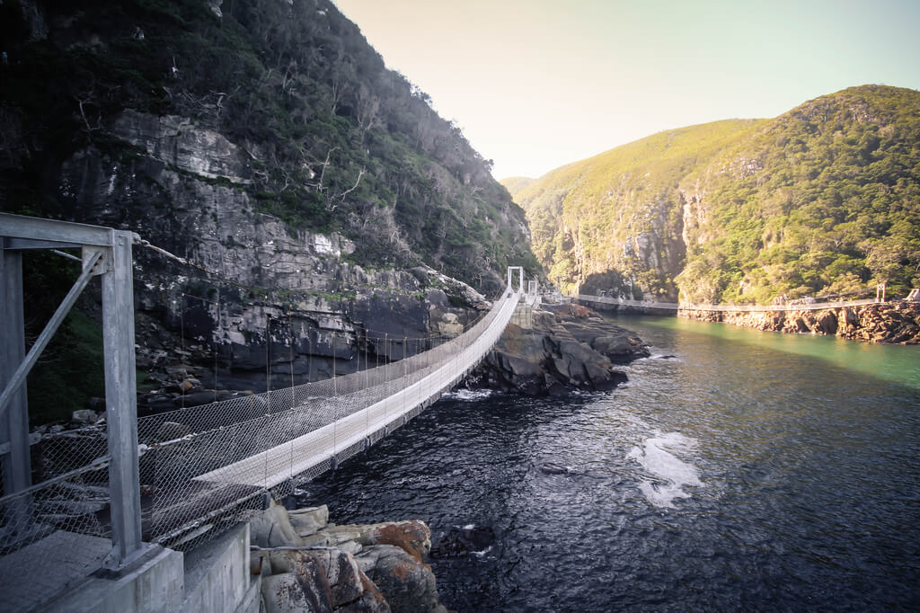 Tsitsikamma National Park - Waterfall Trail - Storms River
